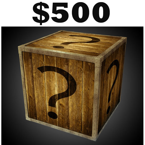$500 Mystery Box - Oh yes, it WILL BE WORTH IT! Pretty Much Everything In Our Warehouse - SHIPS FREE!