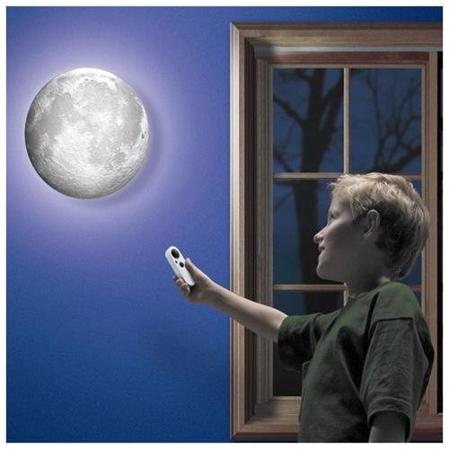 Remote Controlled Moon With Light-Up Lunar Phases - SHIPS FREE!
