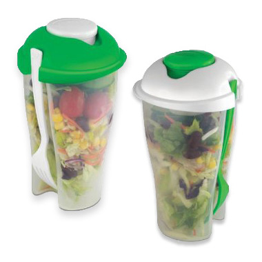4-Pack Salad To Go Sets