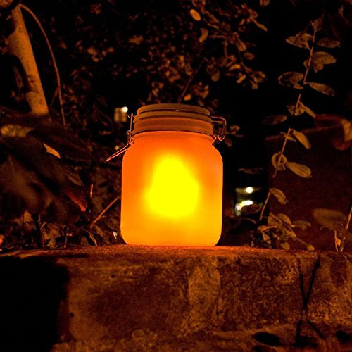 Solar Jar Light by Fine Life - Add A Whimsical Light To Your Garden or Patio! One for $15 or THREE for $25! SHIPS FREE!