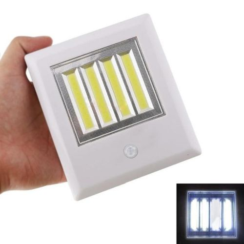 New Wide Style Wireless COB LED Instant Stick Up Or Magnetic MOTION SENSOR Night Light - Great for stairs, bathrooms, hallways and more! - SHIPS FREE!